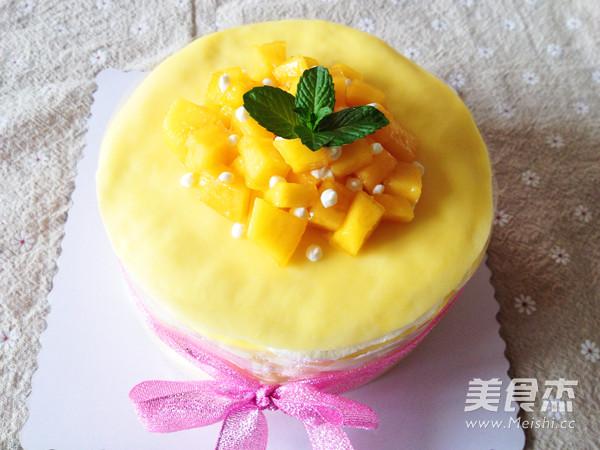 千层蛋糕的制作