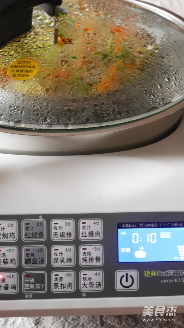 小米香菇蒸排骨怎么煮