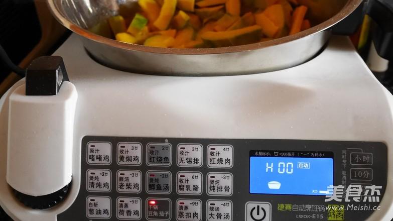 清炒南瓜的简单做法