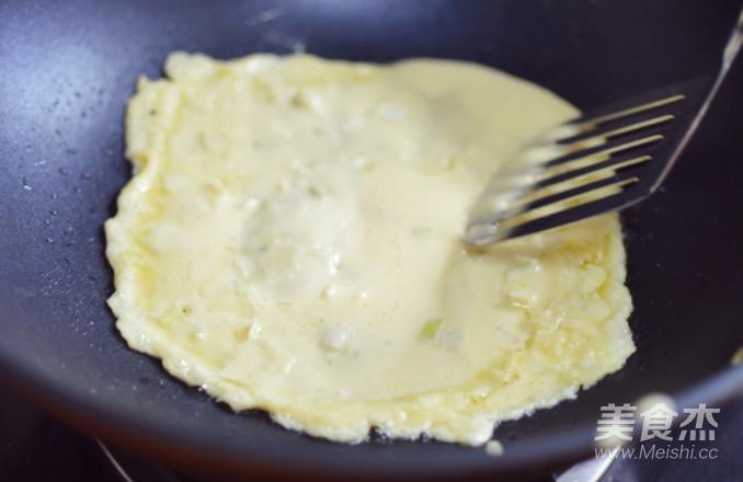 香酥豆浆渣鸡蛋饼的简单做法