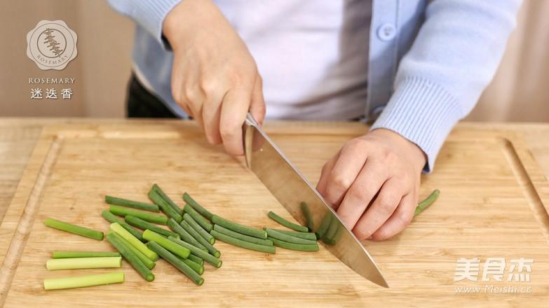 蒜苔炒鸡蛋-迷迭香的做法图解