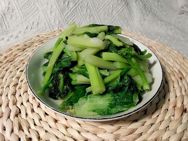 清炒白菜苔怎么吃