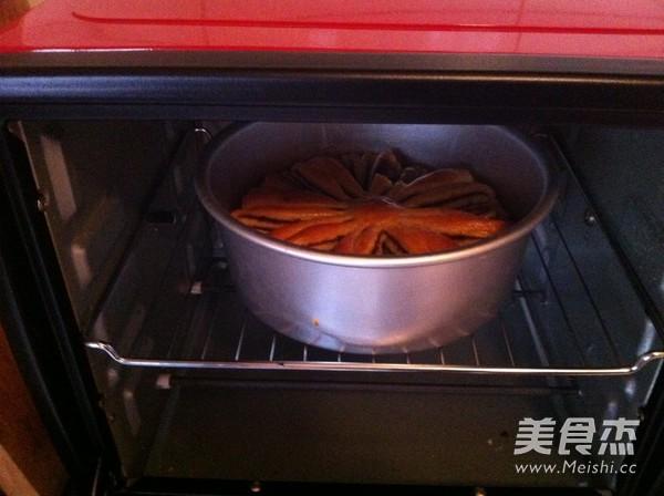 果酱花式面包的制作