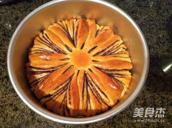 果酱花式面包的制作方法