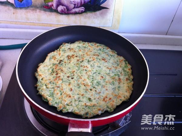 芹菜叶鸡蛋饼怎么煮