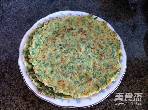 芹菜叶鸡蛋饼怎么炖