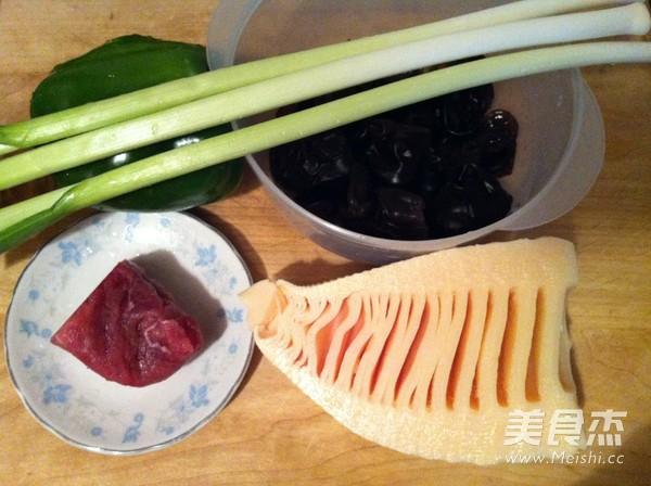 竹笋炒肉片的做法大全