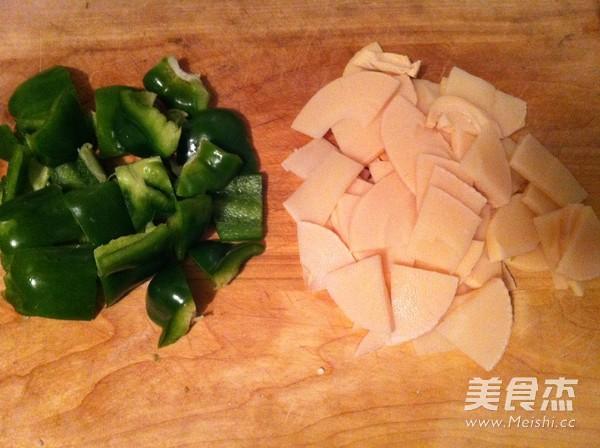 竹笋炒肉片的做法图解