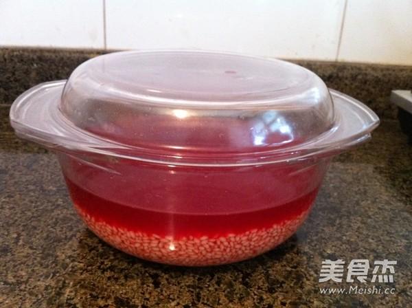 苋菜汁糯米粽子的家常做法