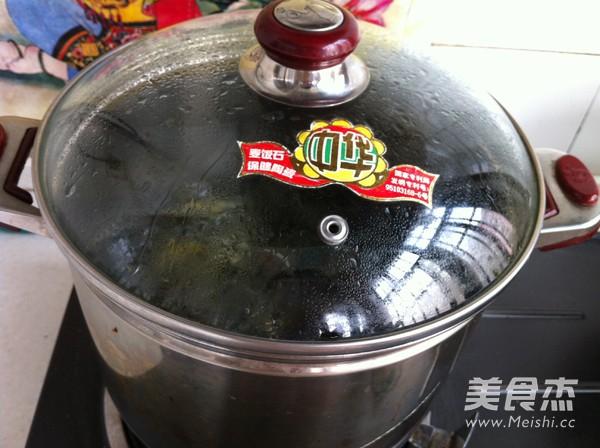 苋菜汁糯米粽子怎么煸