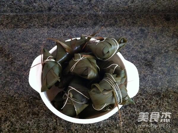 苋菜汁糯米粽子怎么煮