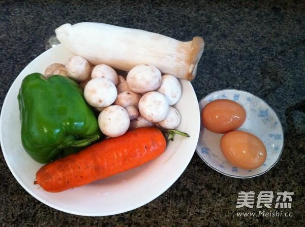 双孢菇炒鸡蛋的做法大全