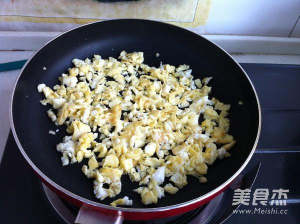 紫豆角鸡蛋蒸包的做法图解