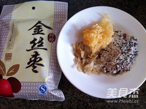 银耳百合阿胶枣粥的做法大全