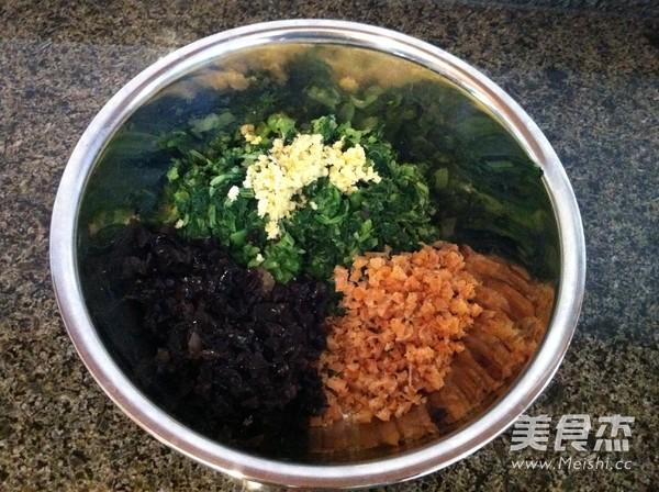 黑豆面小白菜素饺子怎么吃