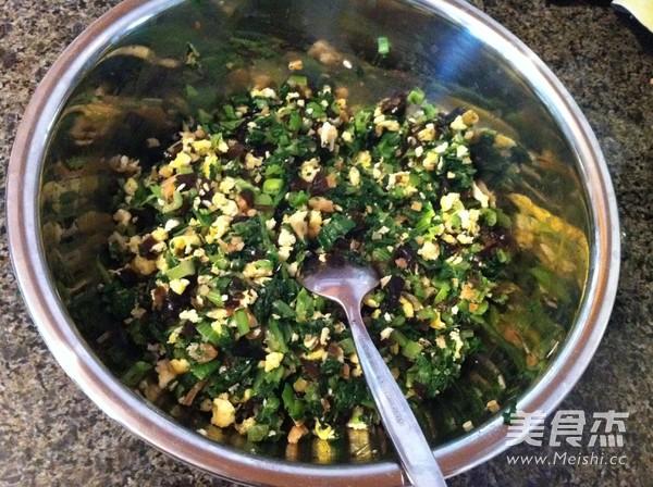 黑豆面小白菜素饺子怎么做