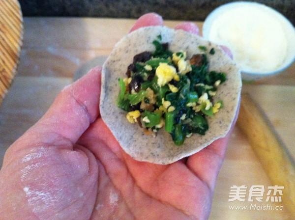 黑豆面小白菜素饺子怎么炖