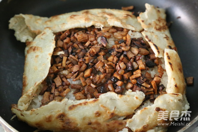 武汉豆皮丨中国式饭团(二)的步骤