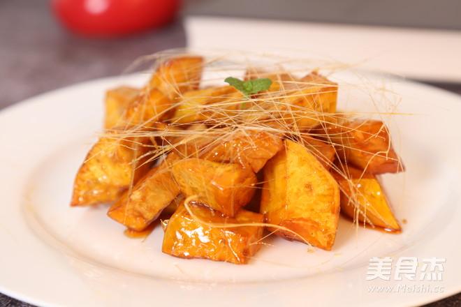 拔丝红薯 成功率翻倍的所有实用tips的步骤