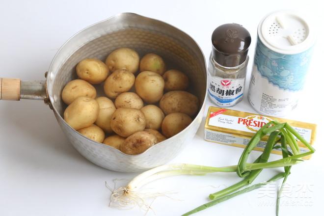 香煎小土豆的步骤