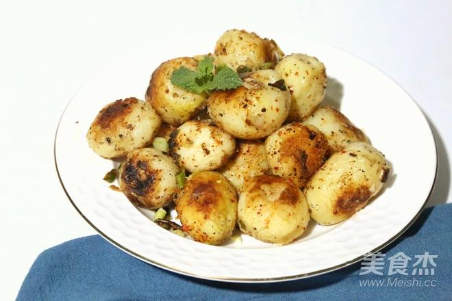 香煎小土豆成品图