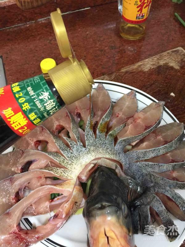 孔雀开屏鱼怎么做