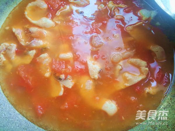 开胃番茄鱼片汤怎么煮