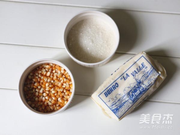 焦糖爆米花的做法大全