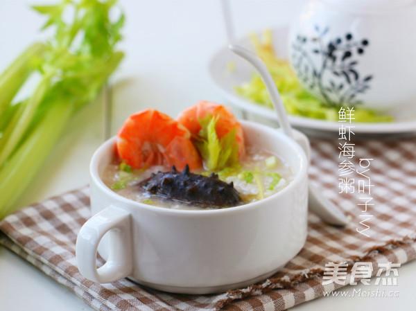 鲜虾海参粥怎么吃