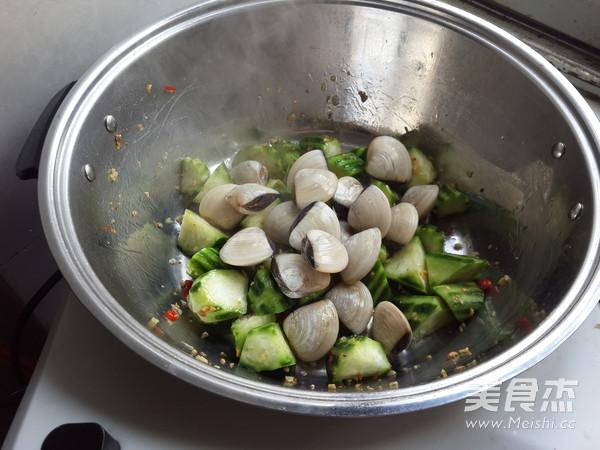 白贝烩丝瓜豆泡的家常做法