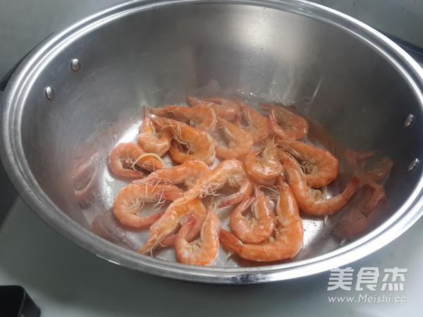 椒盐紫苏虾的做法图解