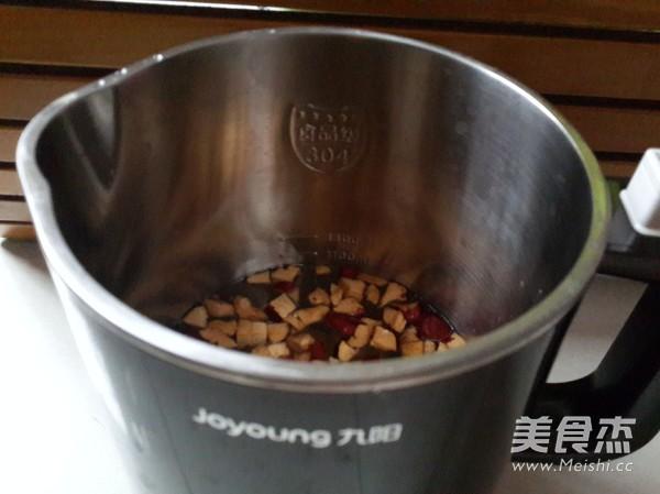 桂圆红枣豆浆的家常做法