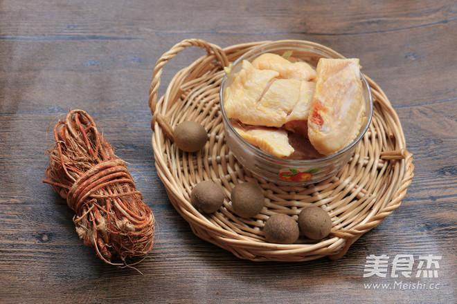 苏泊尔•蒸汽球釜五指毛桃桂圆鸡汤的做法大全