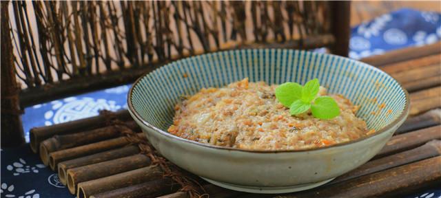 梅干菜蒸肉饼成品图