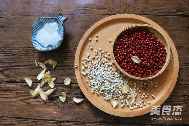 红豆薏米糖水的做法大全
