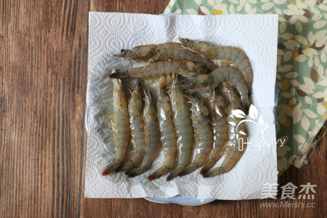 迷迭香海盐烤虾的做法图解