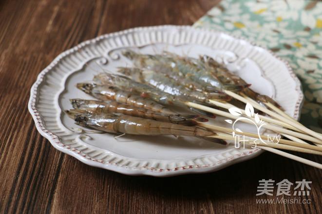 迷迭香海盐烤虾的家常做法