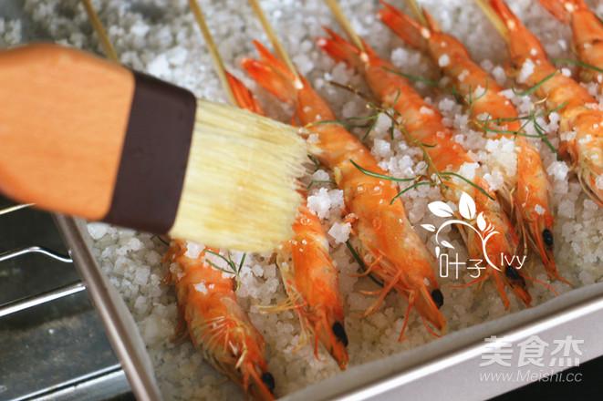 迷迭香海盐烤虾怎么做