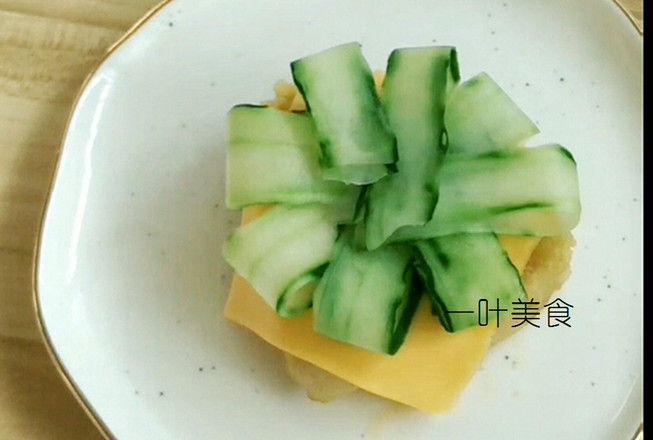 粽子汉堡的简单做法