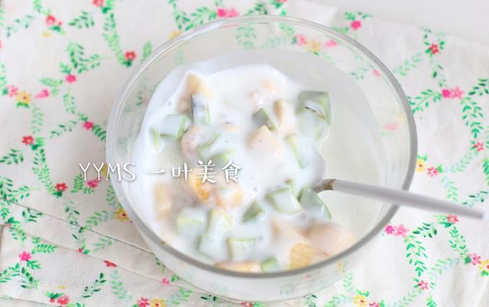 香蕉牛油果酸奶吐司的做法大全