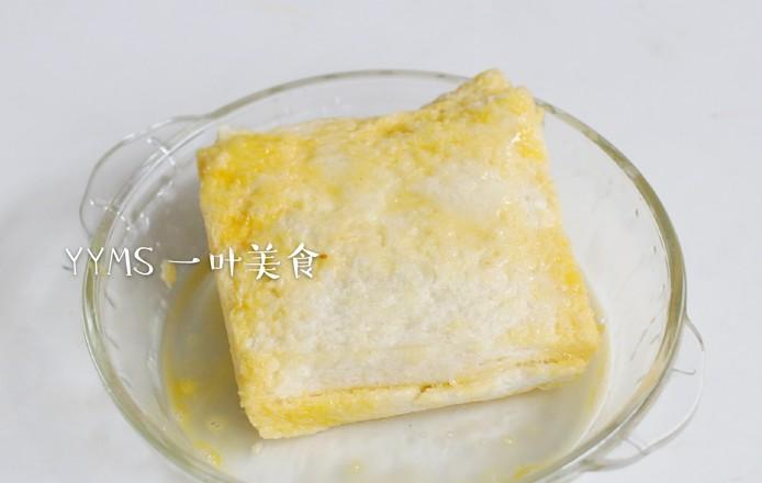 香蕉牛油果酸奶吐司的简单做法