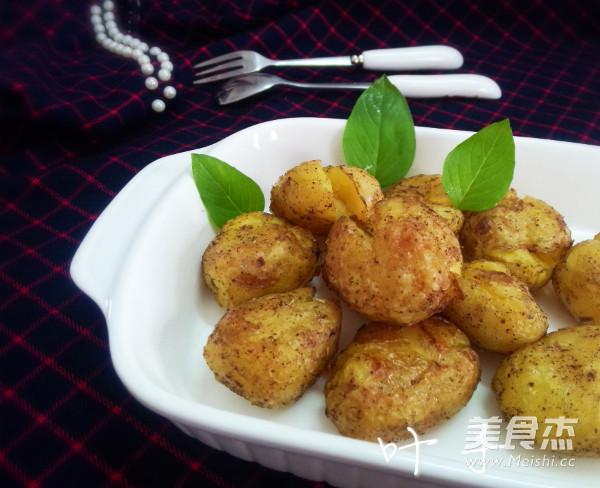 脆皮烤土豆成品圖