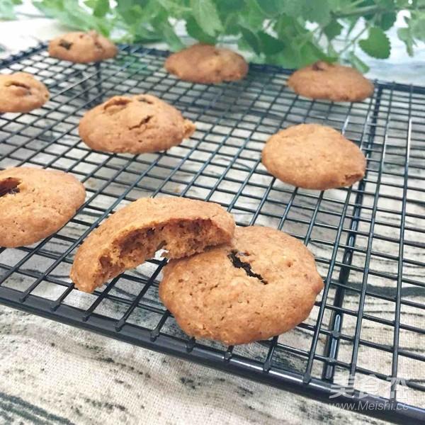 燕麦葡萄甜饼的步骤