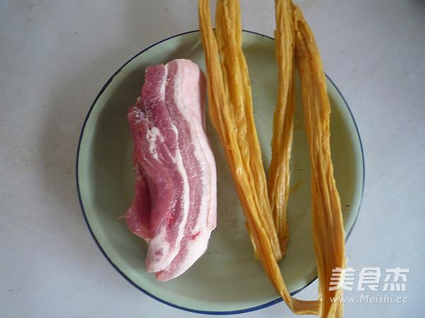 五花肉焖腐竹的做法大全