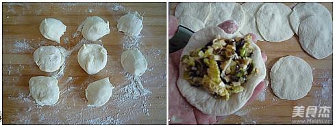 香菇木耳白菜大素包子怎么做