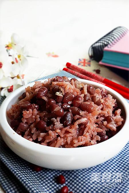 红豆饭成品图