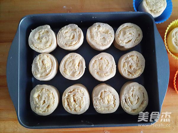 椰蓉卷餐包的制作方法