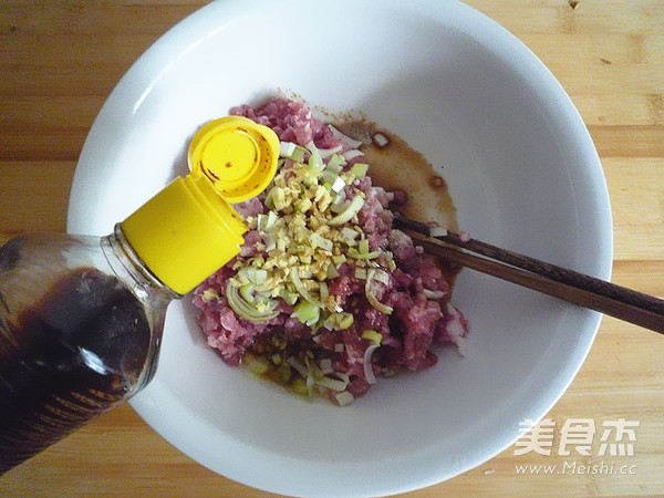 酸菜粉丝丸子的做法图解