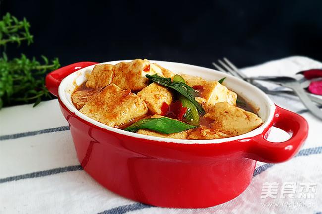 蒜苗烧豆腐怎样煮