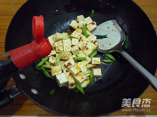 蒜苗烧豆腐怎么煮